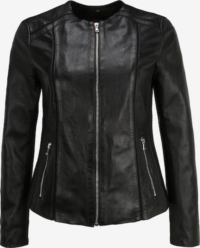 KRISS Lederjacke 'Side' in schwarz, Produktansicht