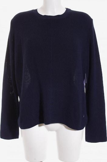 Topshop Sweater & Cardigan in XXL in Dark blue / White: Frontal view
