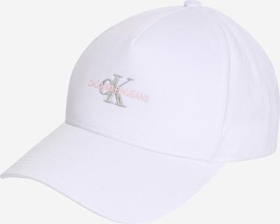 Cappello da baseball Calvin Klein Jeans di colore rosa / argento / bianco, Visualizzazione prodotti