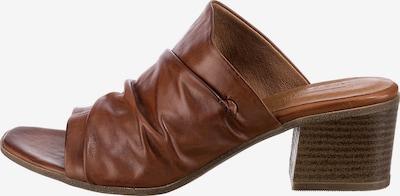 Paul Vesterbro Pantoletten in braun, Produktansicht