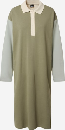 Gina Tricot Blousejurk in de kleur Beige / Kaki / Mintgroen, Productweergave