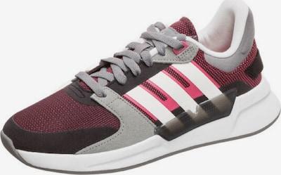 ADIDAS PERFORMANCE Sportschuh in grau / weinrot / schwarz / weiß, Produktansicht