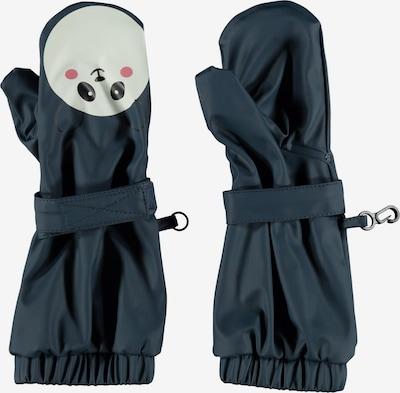 NAME IT Handschuhe in navy / pink / schwarz / weiß, Produktansicht