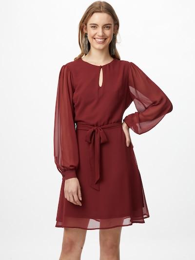 NU-IN Kleid in weinrot, Modelansicht