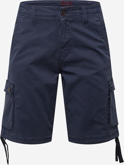 MUSTANG Cargobroek in de kleur Marine, Productweergave