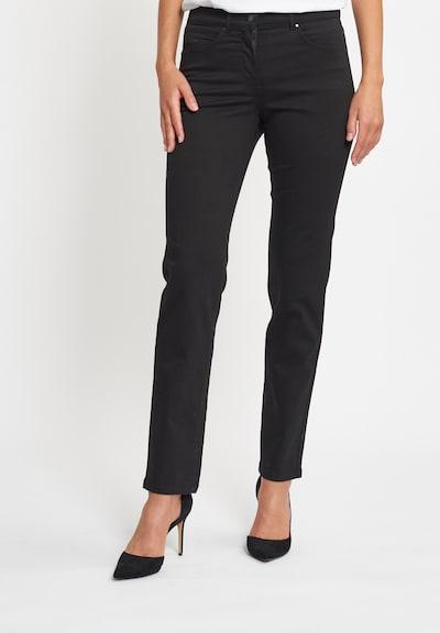 LauRie Jeans 'Christie' in de kleur Zwart, Modelweergave