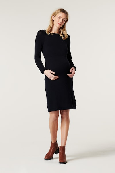 Esprit Maternity Kleid in dunkelblau, Modelansicht