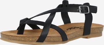 COSMOS COMFORT Sandale in Schwarz