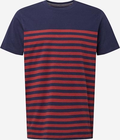 Tricou 'WILSON' JACK & JONES pe albastru închis / roșu, Vizualizare produs