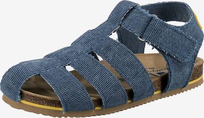 DULIS Sandale in blau / gelb, Produktansicht