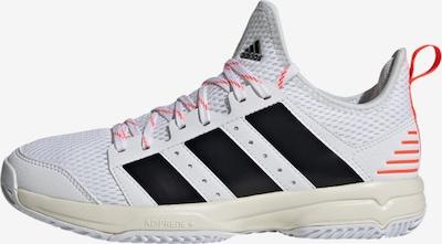 ADIDAS PERFORMANCE Sportschuh in grenadine / schwarz / weiß, Produktansicht