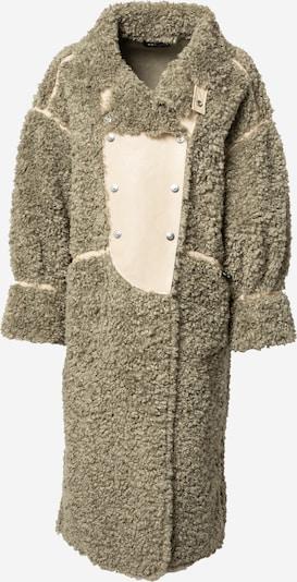 OOF WEAR Mantel in beige / oliv, Produktansicht
