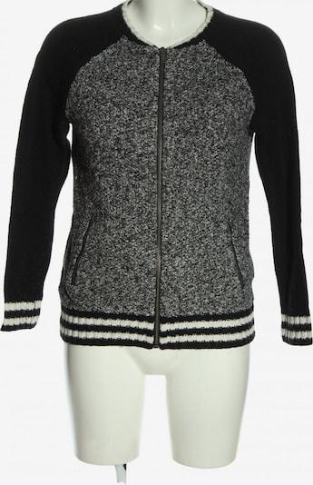 American Eagle Sweatshirt & Zip-Up Hoodie in XS in Light grey / Black / White, Item view