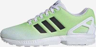 ADIDAS ORIGINALS Sneakers laag ' ZX Flux ' in de kleur Lichtgroen / Wit: Vooraanzicht