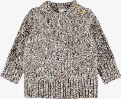 NAME IT Пуловер 'Onaran' в сив меланж / червен меланж, Преглед на продукта