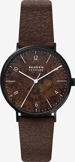 SKAGEN Uhr in dunkelbraun, Produktansicht