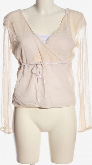 Noa Noa Langarm-Bluse in L in creme, Produktansicht