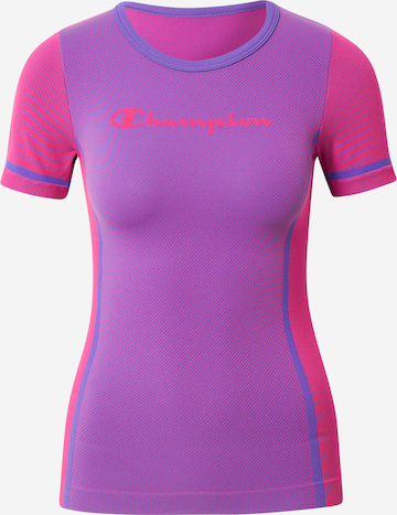 Champion Authentic Athletic Apparel Sportshirt in Lila