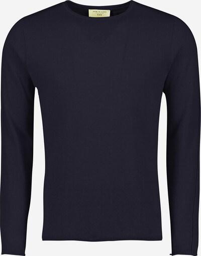 NEW IN TOWN Rundhalspullover in blau / marine / navy / royalblau / dunkelblau, Produktansicht