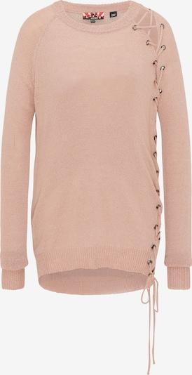 myMo ROCKS Sweter w kolorze różowy pudrowym, Podgląd produktu