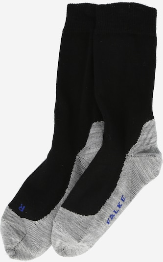 FALKE Socken 'Sunny Days' en grau / schwarz, Vue avec produit