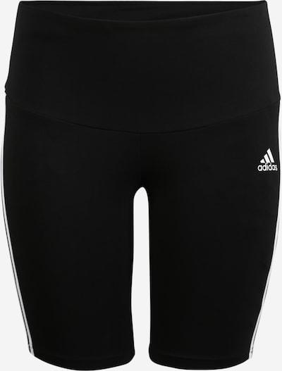 ADIDAS PERFORMANCE Sportshorts in schwarz / weiß, Produktansicht