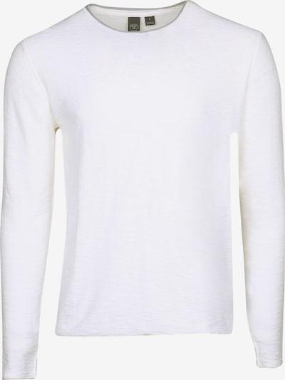Le Temps Des Cerises Langarmshirt RIMAX in schlichtem Design in weiß, Produktansicht