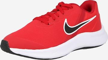 Chaussure de course 'Star Runner 3' NIKE en rouge