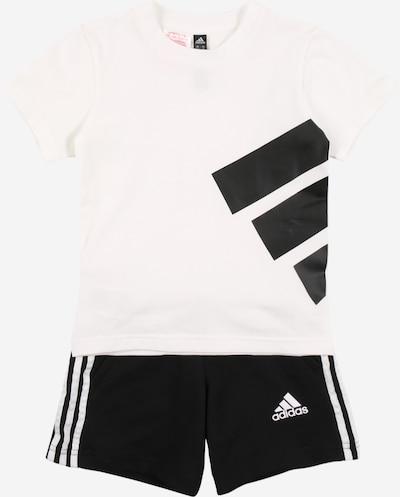 ADIDAS PERFORMANCE Sportanzug in schwarz / weiß, Produktansicht