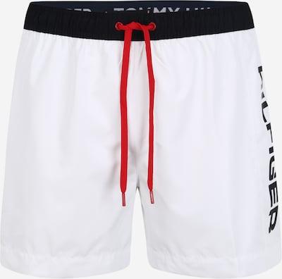 Tommy Hilfiger Underwear Badeshorts in schwarz / weiß, Produktansicht