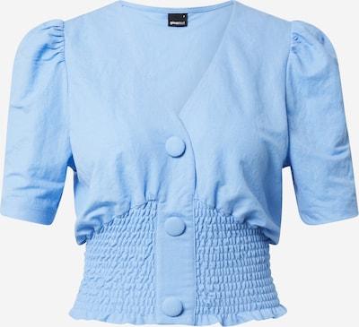 Gina Tricot Bluse 'Isabella' in blau, Produktansicht