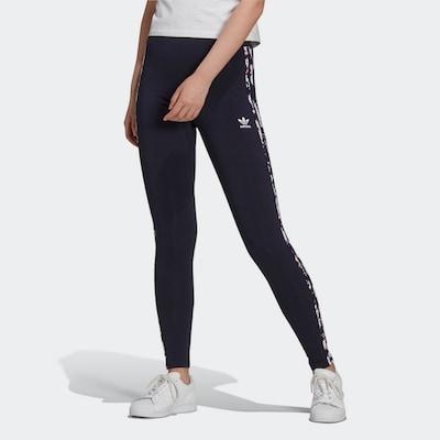 ADIDAS ORIGINALS Leggings in marine / dunkellila / pink, Modelansicht