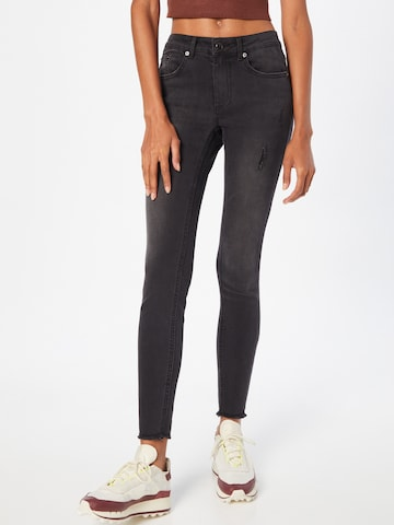 ABOUT YOU Jeans 'Fee' in Zwart