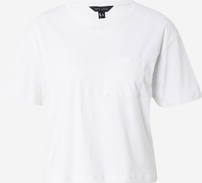 NEW LOOK T-shirt en blanc, Vue avec produit