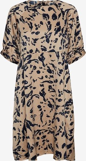 VERO MODA Robe 'HAILEY' en camel / noir, Vue avec produit