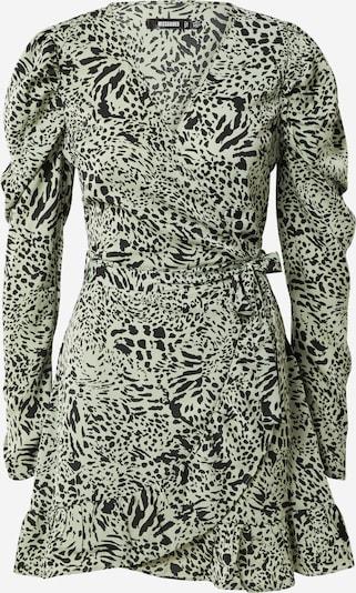 Missguided Robe en vert clair / noir, Vue avec produit