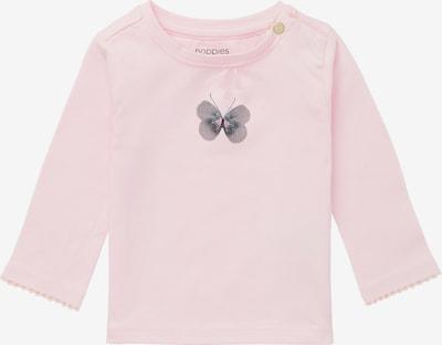 Noppies Shirt in de kleur Blauw / Grijs / Lichtroze, Productweergave