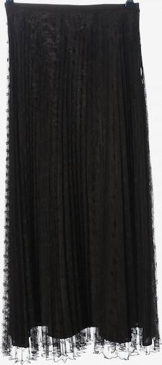 Zapa Plisseerock in L in schwarz, Produktansicht
