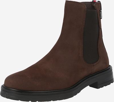 TOMMY HILFIGER Chelsea Boots in dunkelbraun, Produktansicht