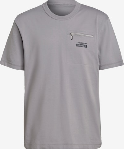 ADIDAS ORIGINALS Shirt in de kleur Grijs / Zwart, Productweergave