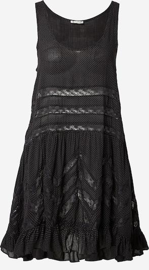 Free People Robe d'été en gris clair / noir, Vue avec produit