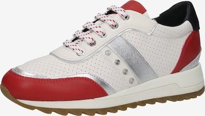 GEOX Sneaker in rot / weiß, Produktansicht