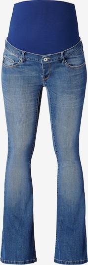 Supermom Jeans ' Flared Blue ' in de kleur Blauw, Productweergave