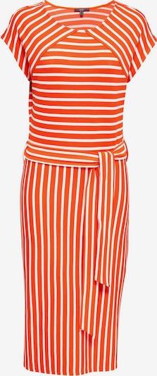 Esprit Collection Jurk in de kleur Sinaasappel / Wit, Productweergave
