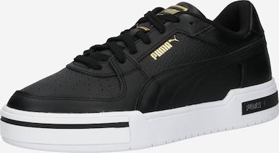 Sneaker low PUMA pe auriu / negru, Vizualizare produs