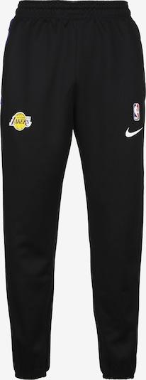 NIKE Sporthose 'Los Angeles Lakers' in blau / gelb / rot / schwarz / weiß, Produktansicht