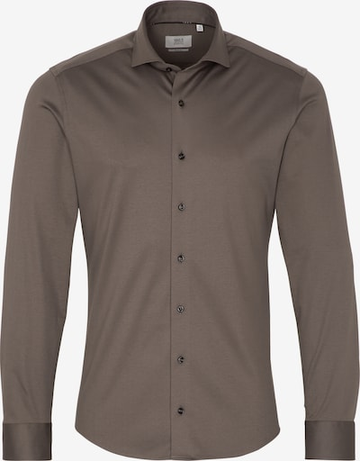 ETERNA Zakelijk overhemd in de kleur Taupe, Productweergave