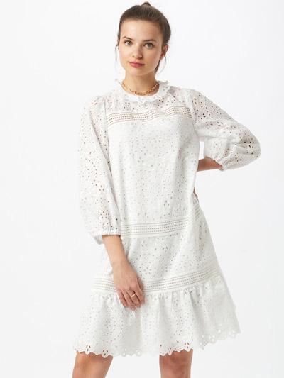 IVY & OAK Košilové šaty 'EMBROIDERY' - bílá, Model/ka
