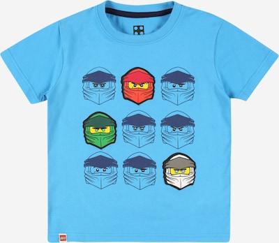 LEGO WEAR Тениска в морскосиньо / небесносиньо / лимоненожълто / тъмносиво / пъпеш, Преглед на продукта