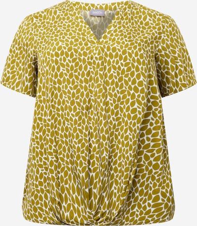SAMOON Bluse in hellgrün / weiß, Produktansicht